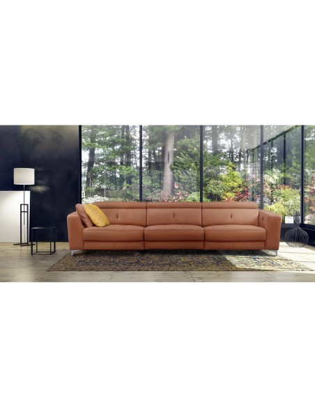 Sofa de 3 plazas con 3 asientos relax de 3,15 metros